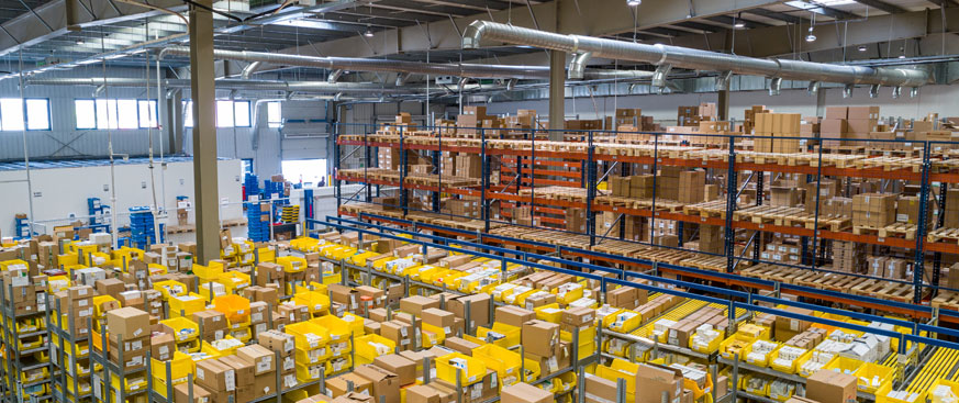 U.S. REAL ESTATE STRATEGIC OUTLOOK featured image of the inside of a warehouse